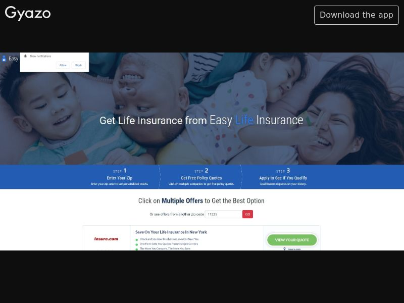 Easy Life Insurance US | CPL