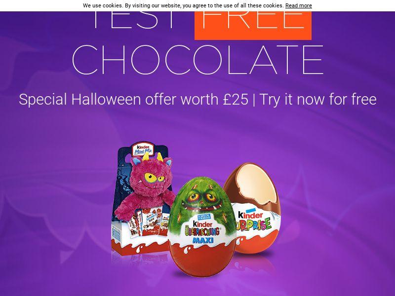 (13313) [WEB+WAP] Kinder Halloween - UK - CPL