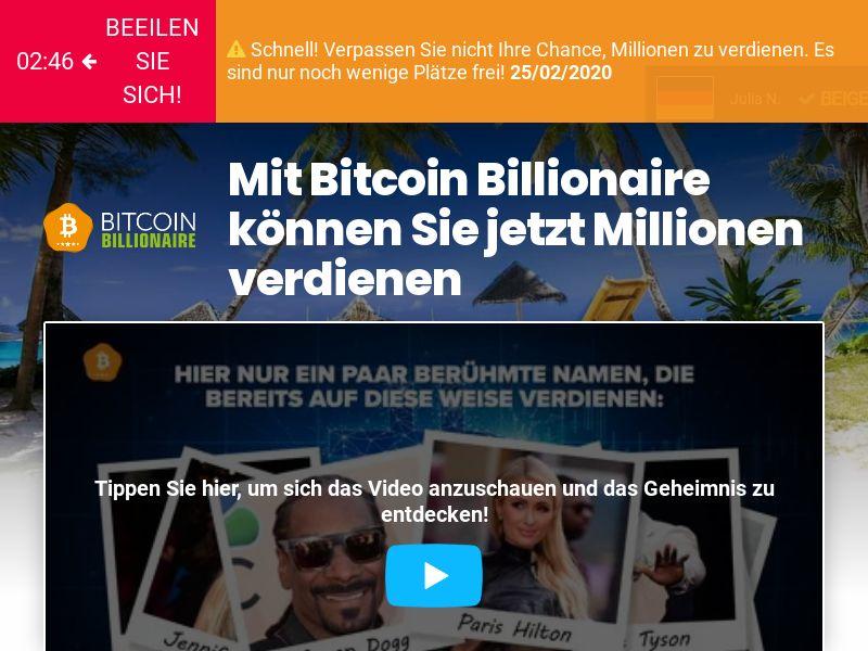 Bitcoin Billionaire CPA DE