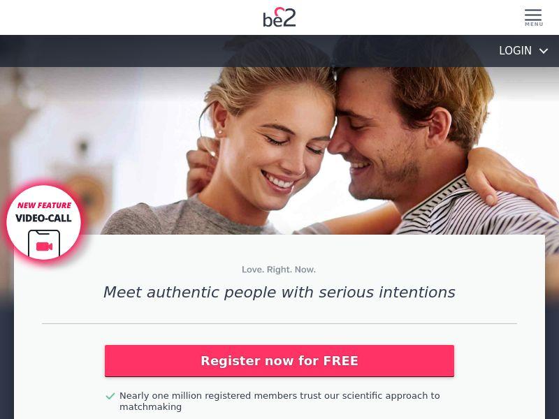 Dating - Be2 (ZA) - DESKTOP