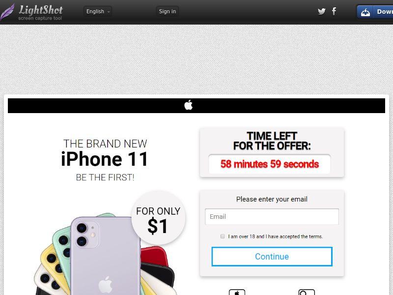 GetRealDeal iPhone 11 White (Sweepstake) (CC Trial) - UAE [AE]