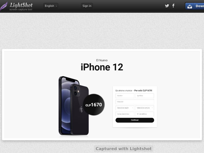 PrizeOffers - iPhone 12 (CL) (Trial) (Personal Approval)