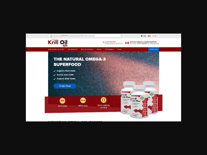 Krill Oil Plus - Supplement (US,CA)