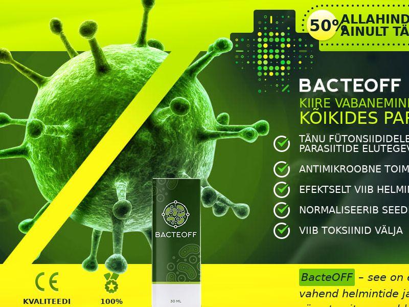 BacteOFF EE - anti-parasite product