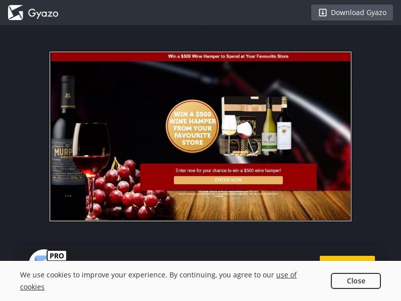 Wine Hampers Voucher (NZ) (CPL)