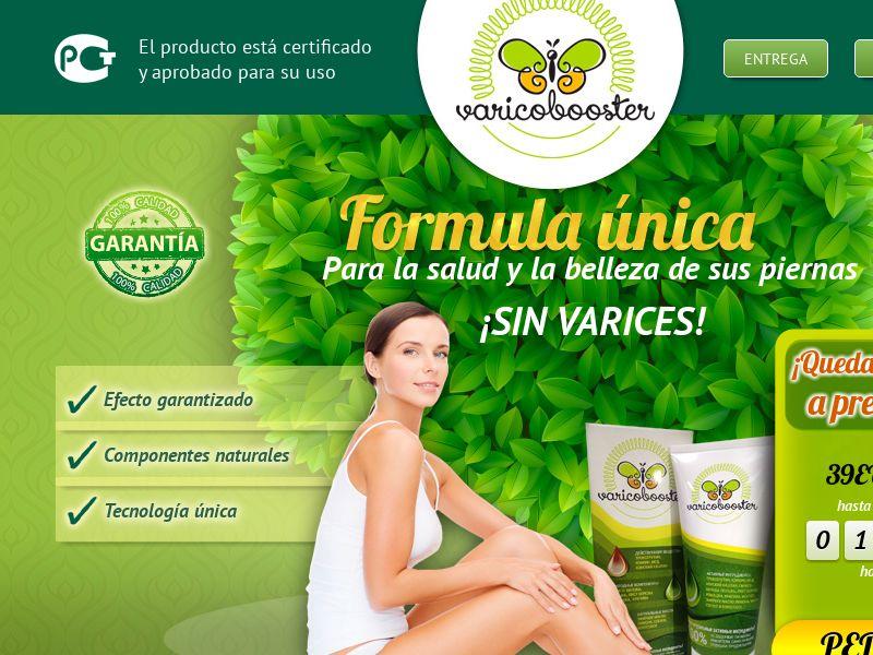 Varicobooster ES — varicose vein cream