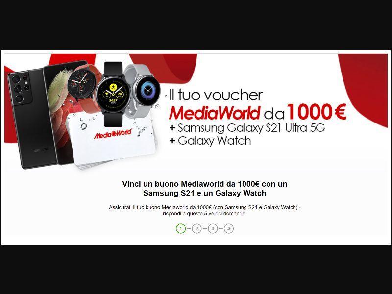 MediaWorld+Samsung [IT] - SOI registration