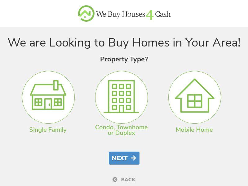 We Buy Homes 4 Cash - CPL - V2