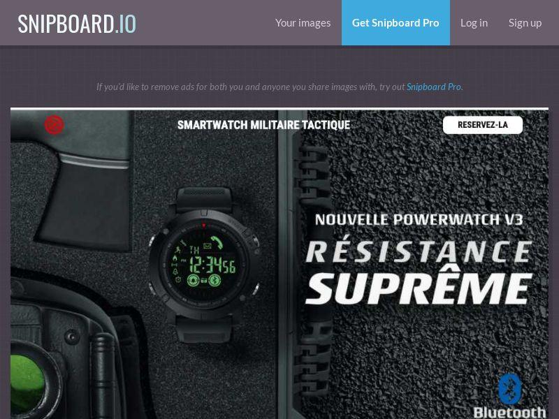 37499 - FR - E-Commerce - PowerWatch - SS