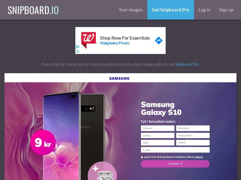 BigEntry - Samsung Galaxy S10 v4 SE - CC Submit