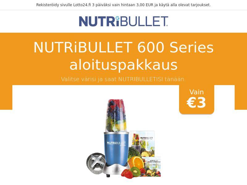 Nutribullet 600 Series Starter Kit - FI