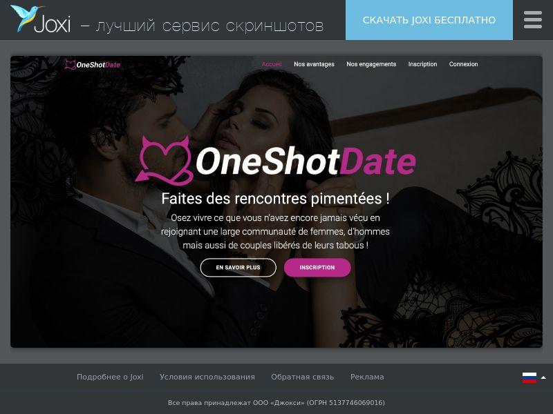 WEB/MOB OneShotDate CPL SOI / FR