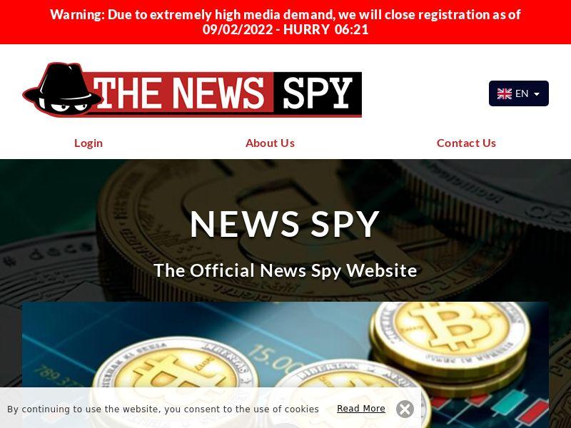 The Newsspy English 1001