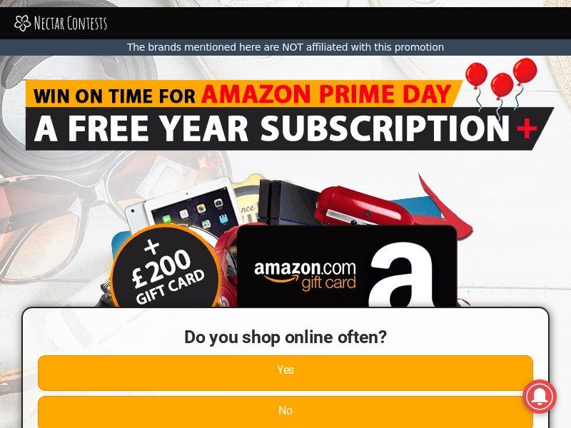 NectarContests - Amazon Prime Day CPL [UK]