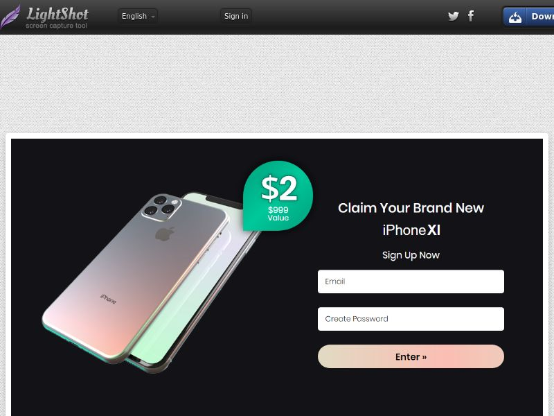IQPlayWin iPhone 11 - Trial - US