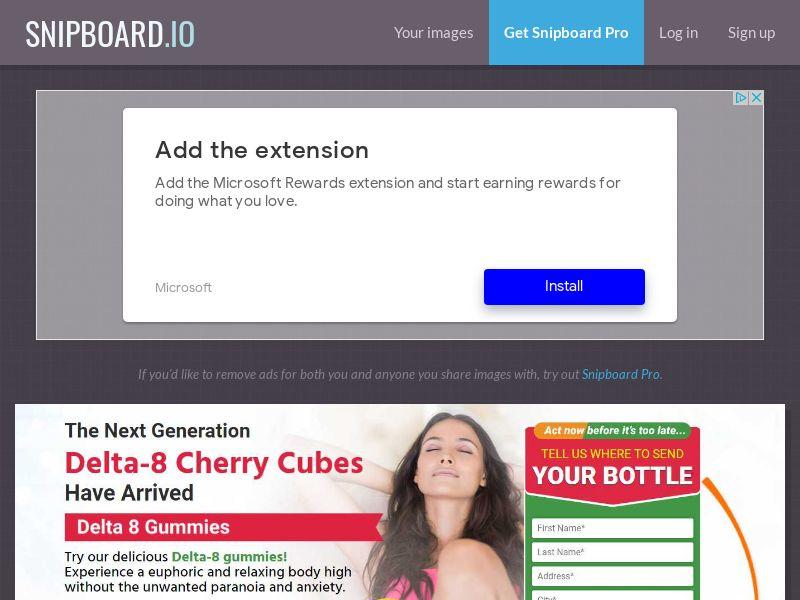 41272 - US - Smilz Delta 8 Gummies Cherry Cubes (US)