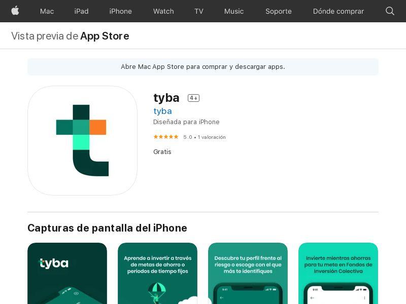 Tyba CO iOS CPA