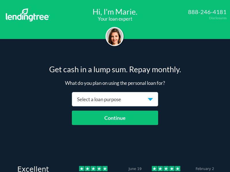 Lending Tree - Personal Loan