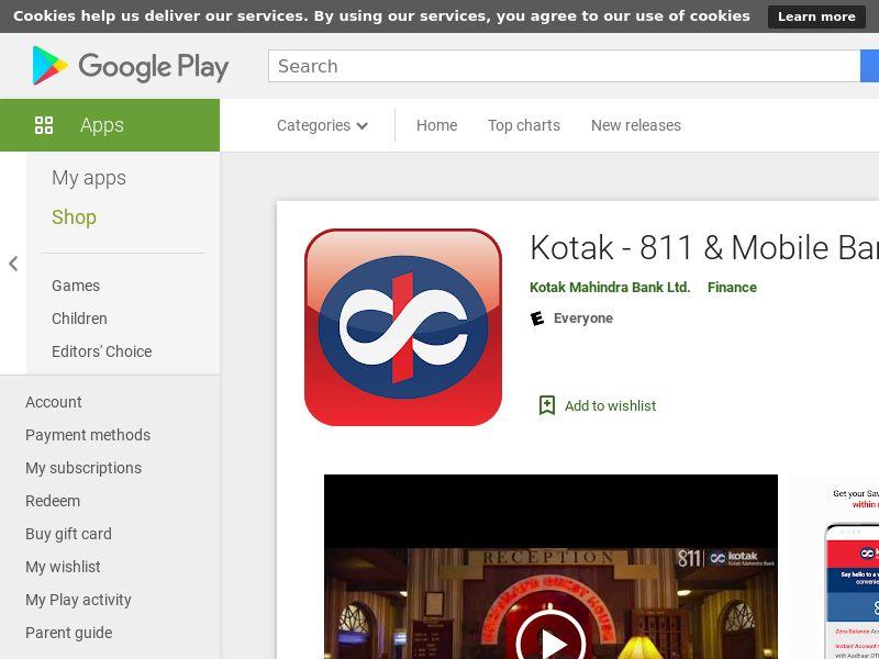 IN - Kotak 811 – Banking App_Android CPA (GAID Mandatory)