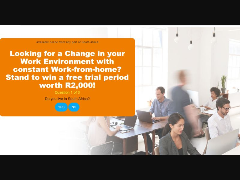 ZA - Win a free period at Co-working Space [ZA] - SOI registration