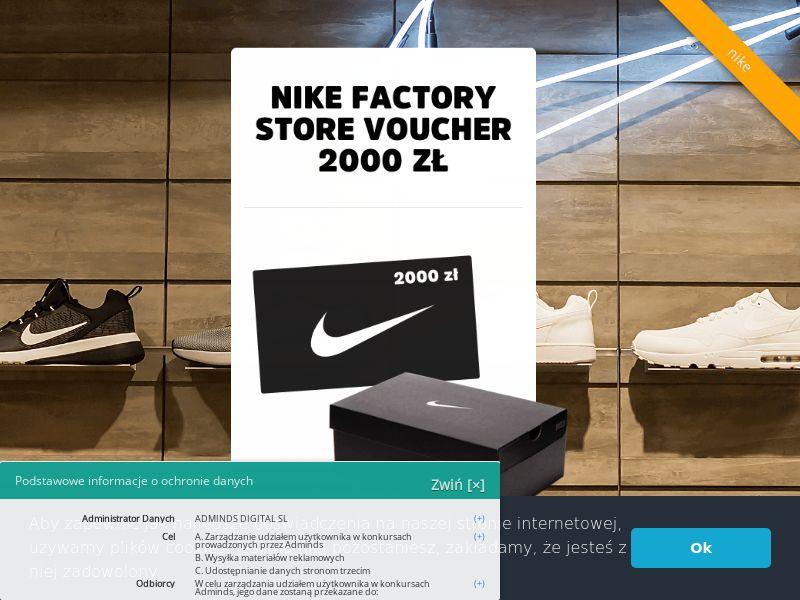 Nike - konkurs (PL), [CPL]