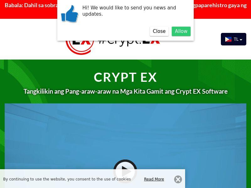 Crypt EX Filipino 2021