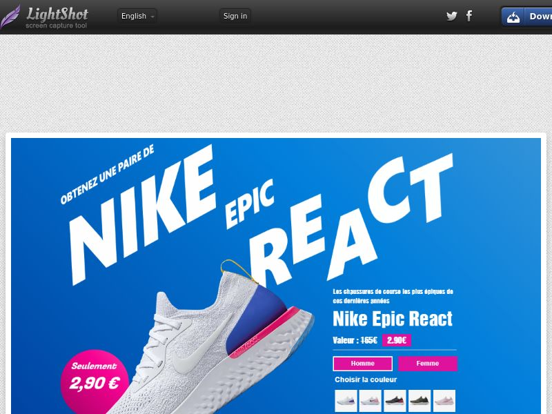 Nike React - Trial - FR