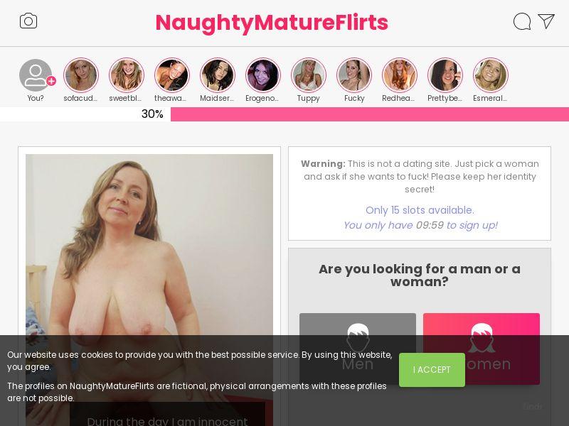 NaughtyMatureFlirts