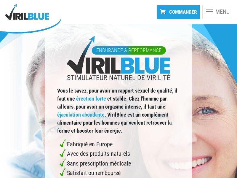 VirilBlue - Revshare - Responsive - FR