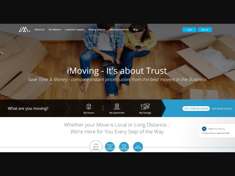 iMoving Long Distance US | CPA