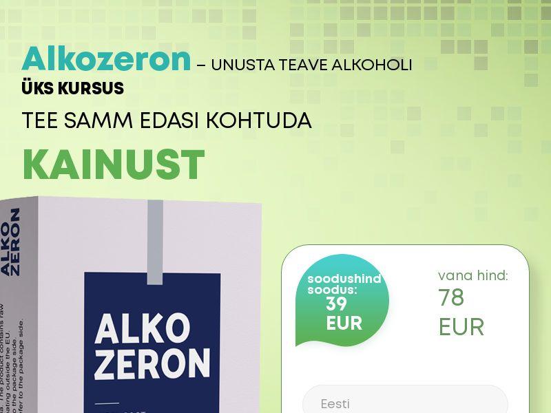 Alkozeron EE - alcoholism treatment product