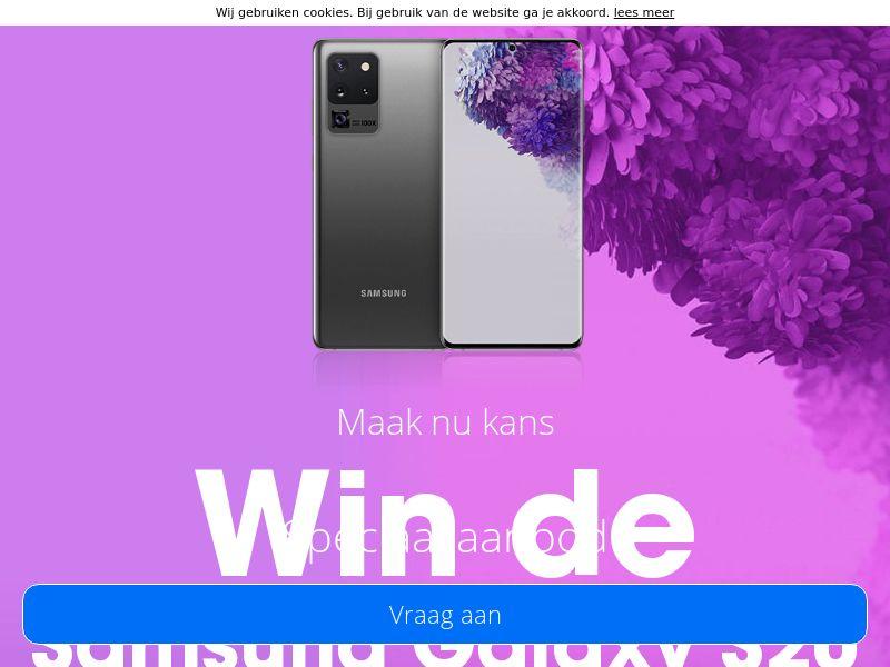 Win deze Samsung S20 - NL