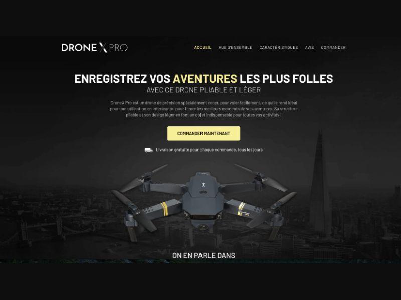 Drone X Pro - CC Submit - WW - eCommerce - Responsive