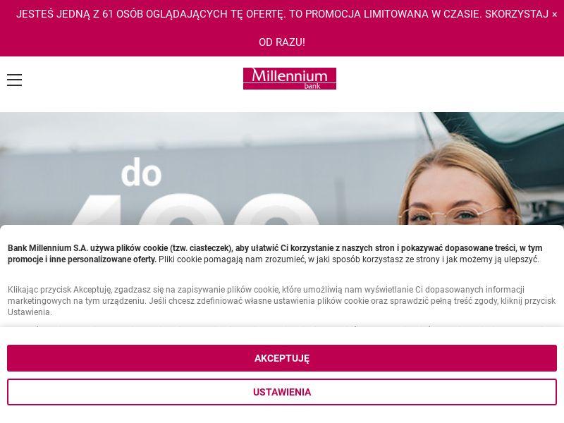 Millenium Bank - Konto 360° (PL), [CPA]