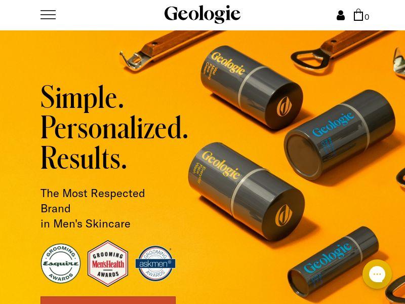 Geologie - Men's Skin Care - INCENT - US