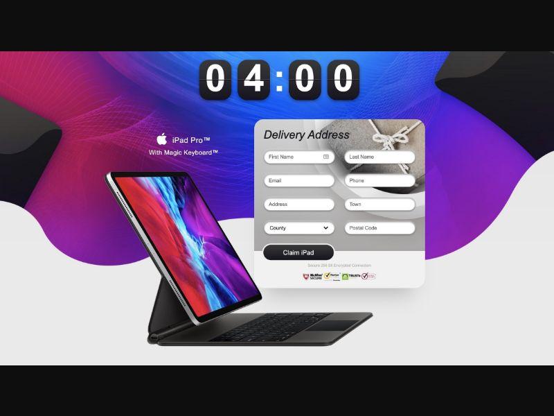 iPad Pro with Magic Keyboard [GB] - CC Submit