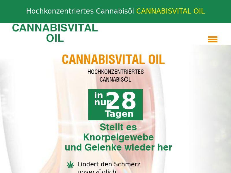 CANNABISVITAL OIL DE