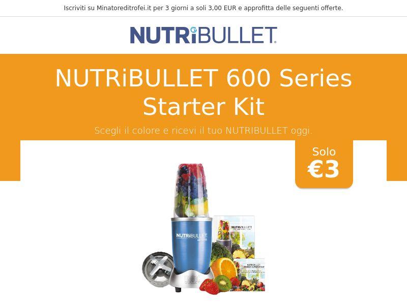 Nutribullet 600 Series Starter Kit - IT
