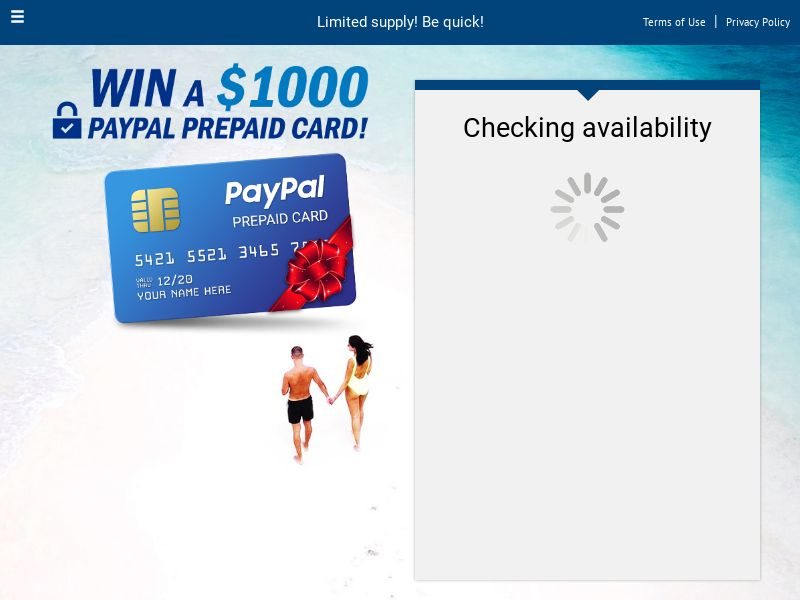 PayPal Giftcard - CPL SOI - US