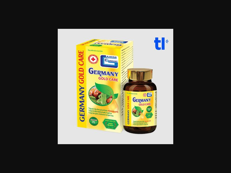 Germany Gold Care - health - CPA - COD - Nutra