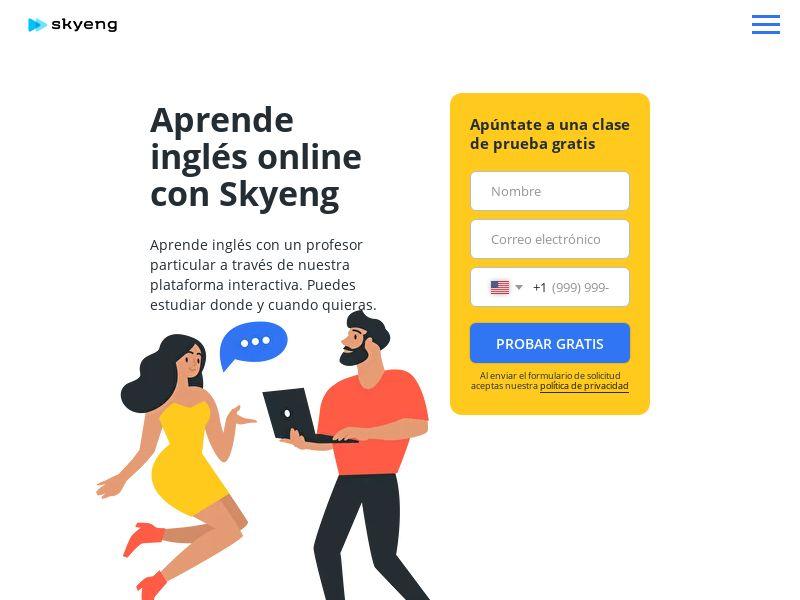 Skyeng - ES (ES,FR,DE,IT,PL), [CPA | CPS]