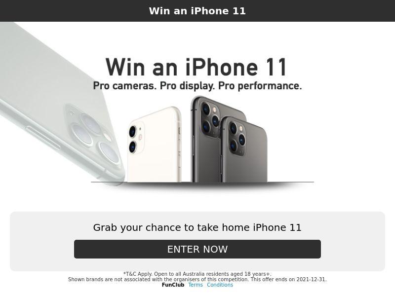 iPhone 11 - AU