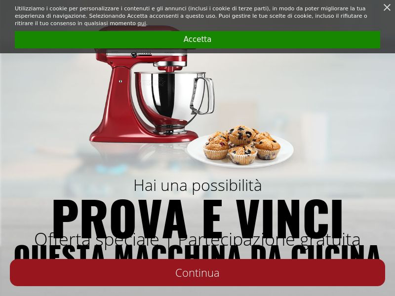 Kitchenaid [IT] (Email,Social,Banner,Native,Push,SEO,Search) - CPL
