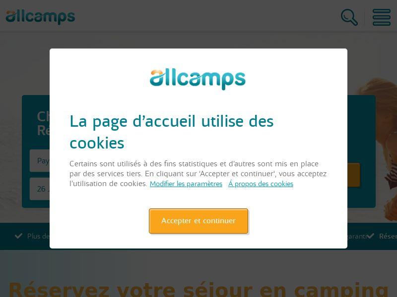Allcamps - FR (FR), [CPS]