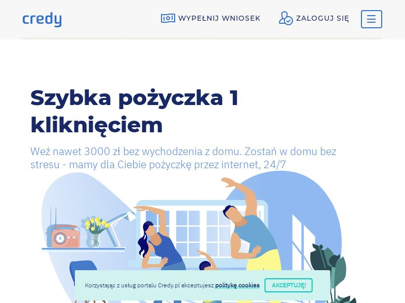 Credy - PL (PL), [CPA], Business, Loans, Short term loans, loan, money, credit