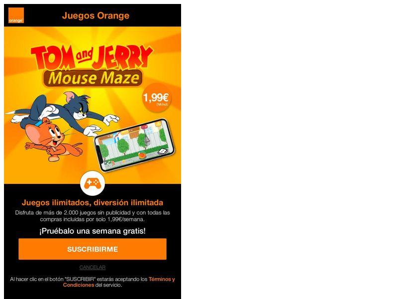 TomJerry New Orange