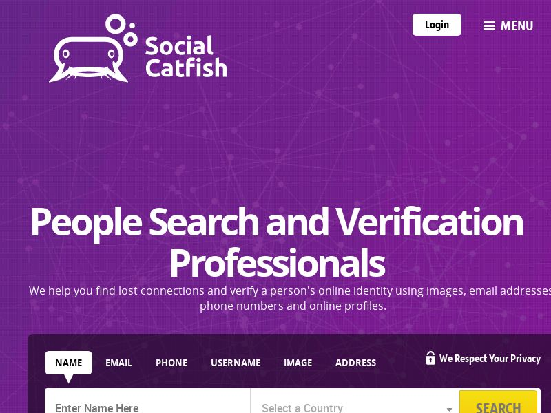 Social Catfish - Reverse Lookup to Search and Verify Identities - CPA | US