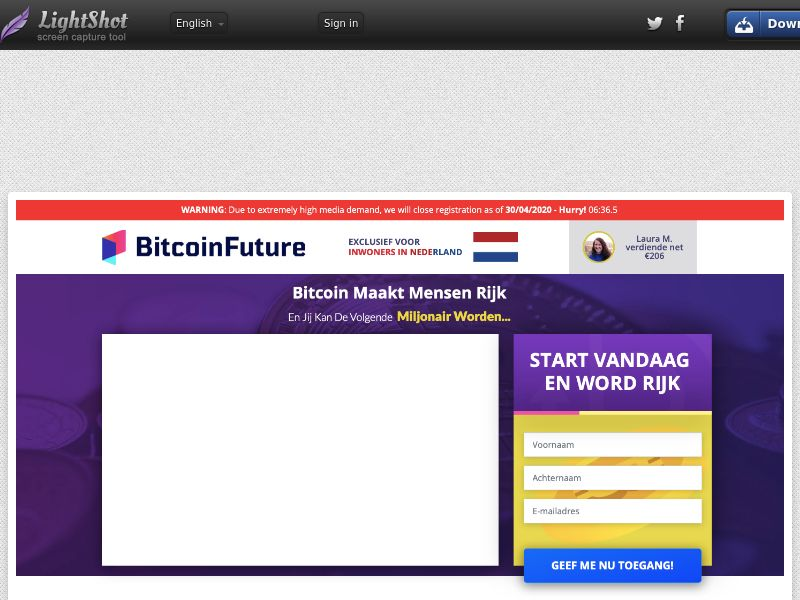Bitcoin Future CPA NL