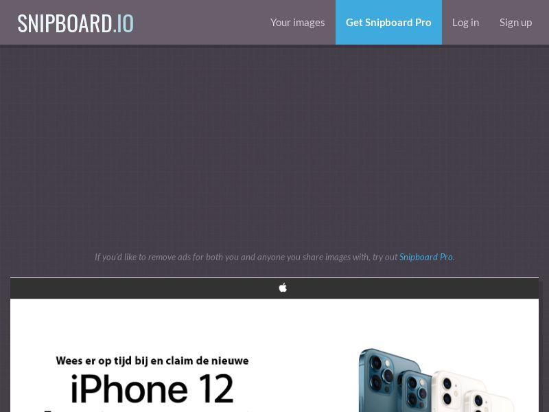 NectarContests - iPhone 12 / 12 Pro NL - SOI