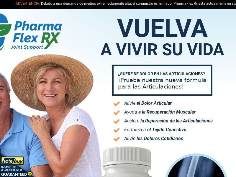 PharmaFlex Rx LP01 (SPANISH) - Joint Support